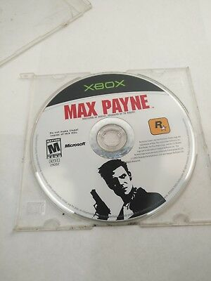 XBOX Max Payne (Microsoft Xbox, 2001) Video Game