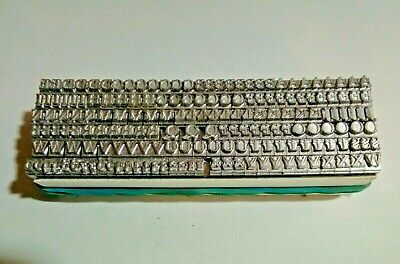 14 point BASKERVILLE UPPERCASE ROMAN Letterpress Metal Printing Type