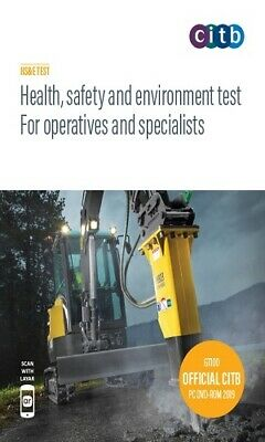 CITB CSCS Test DVD/ROM 2019/20 Health & Safety For Operatives and Specialist