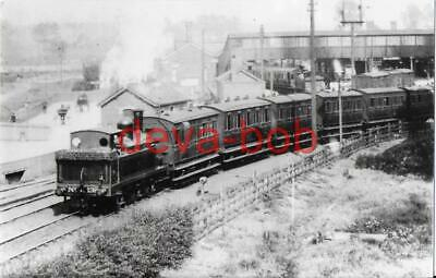 Railway Photo Print NSR Class D 139 Uttoxeter 1908 North Staffordshire LMS Loco
