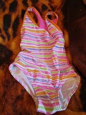 Lovely Girls Zoggs Swimming Costume Age 3-4 years