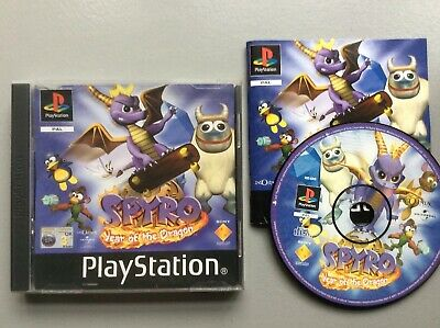 Sony Playstation 1 Ps1 Game Spyro Year Of The Dragon