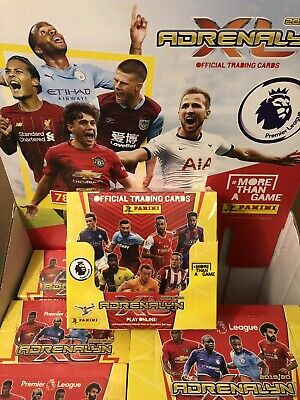 Panini Adrenalyn Xl Premier League 2019/20 - Sealed Box 50 Packs Rrp £50