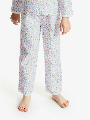 John Lewis Girls' Floral Butterfly Print Pyjama bottoms age 11 years cotton