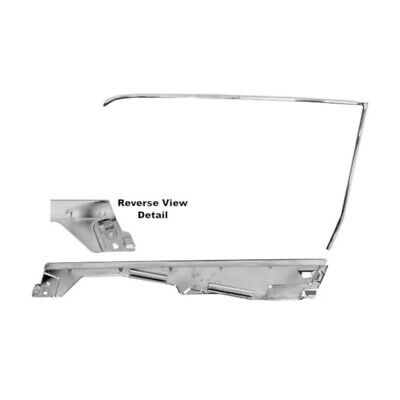 65 - 66 Mustang Coupe Door Window Frame Kit - Right / Passenger Side