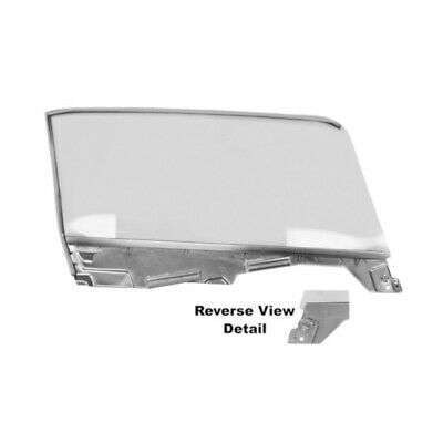 65 - 66 Mustang Convertible Door Window Glass Assembly - Left / Driver Side