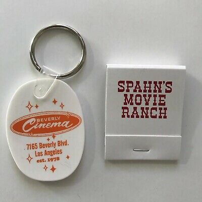 New Beverly Cinema Keychain - TARANTINO Once Upon a Time in HOLLYWOOD El Coyote
