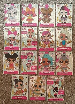 LIMITED EDITION Babydoll /& Foxy Trading Cards Panini LOL Surprise