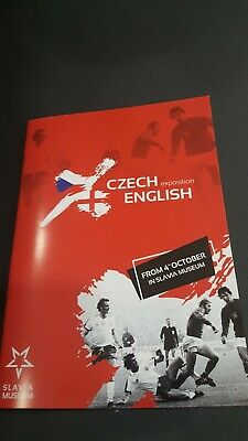 Museum Programme For Czech V England Exhibition at the match stadium 2019