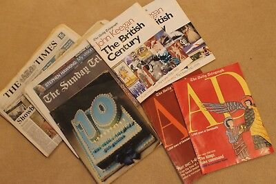 Various Papers & Supplements from The Times, Sunday Telegraph, Daily Telegraph