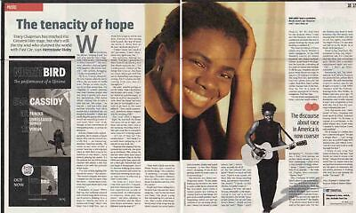 TRACY CHAPMAN : 2-page INTERVIEW ARTICLE -2015-