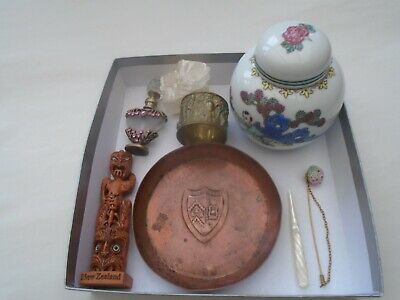small collection of interesting collectables & antiques   NICE JOB LOT   LOOK