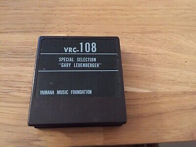 yamaha DX7 voice rom 108  VRC-108 GARY  LEUENBERGER special selection