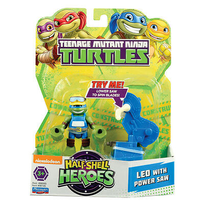 Teenage Mutant Ninja Turtles Half Shell Heroes Leo with Power Saw
