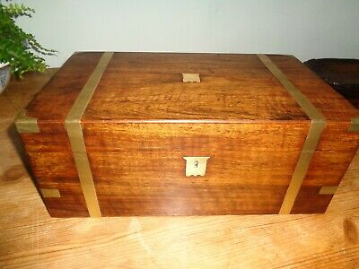 Victorian Writing Box with secret drawers