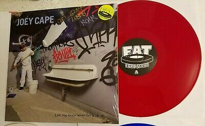 Joey Cape Let Me Know Red Fat Store Color Vinyl