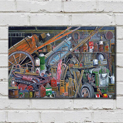 Grandad's Shed - 25 - Roy Didwell Canvas Print