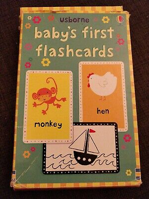 Baby's First Double-sided Flashcards by Usborne