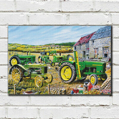 The John Deere Collection -  Roy Didwell Canvas Print