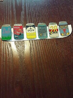 Disney Pins Delicious Drinks  - 6 pin lot
