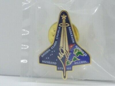 Official Space Shuttle Columbia STS-107 Fallen Heroes NASA Lapel Pin