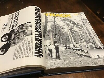 Vintage Caterpillar  Track tractor magazines 1977 1982 30 issues bound