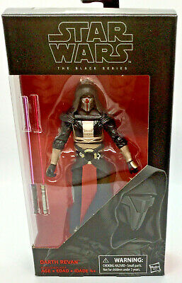Darth Revan 6 Inch Action Figure #34 Star Wars The Black Series Disney Hasbro