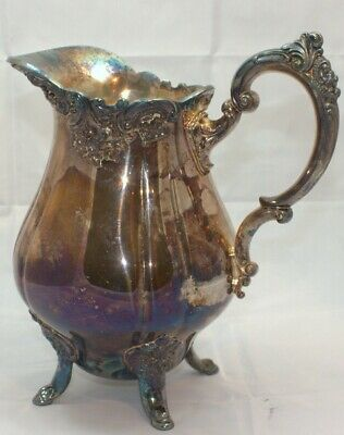 Wallace Baroque 267 silverplate water pitcher