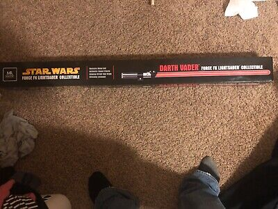 Master Replica Star Wars Darth Vader Force FX Lightsaber Collectible