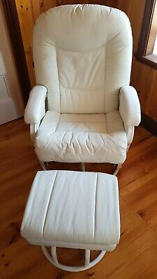 Valco baby Zen breastfeeding chair&white chest of drawers