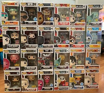 Funko Pop! Lot of 24 - Dragon Ball Z, Saga, Marvel, Disney, more! $240 PPG Value