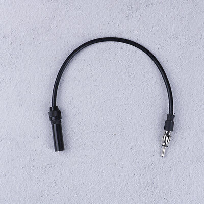 Car antenna extension cord male to female am/fm radio adapter cable  B~