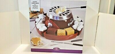 NOSTALGIA ELECTRIC Electric S'mores Maker  Model SMM300 ~ Free Shipping