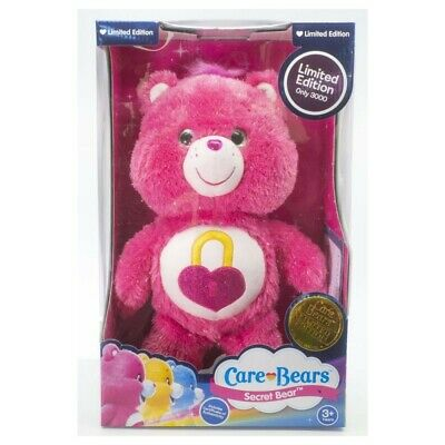 New Care Bears Limited Edition Secret Bear Plush Toy 78435