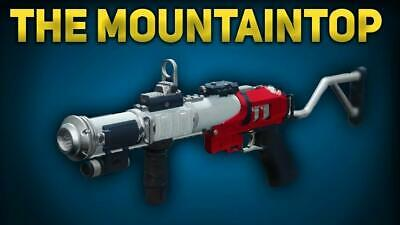 Destiny 2: The MountainTop XBOX(PC,PS4) 1-2 Days Full Quest