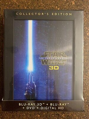 Star Wars: The Force Awakens Collector's Edition (Blu-ray/DVD, 3D, Digital Copy)