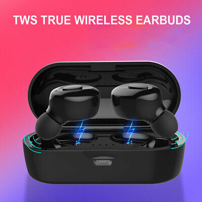 Mini Twins Wireless bluetooth 5.0 Earbuds sport Headset Stereo In-ear Headphones