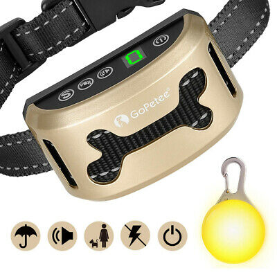GoPetee Dog Anti Bark Collar Stop Barking Sound and Upgraded version