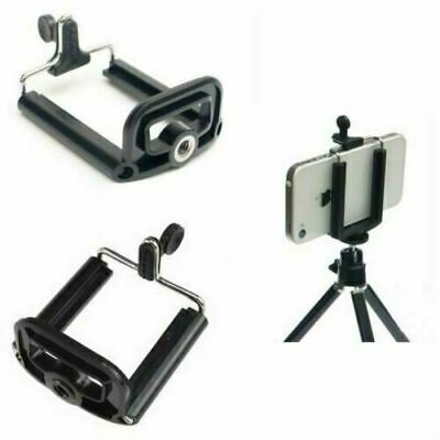 UK Universal Smartphone Tripod Mount Holder Adapter Mobile Phone Monopod Bracket