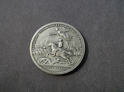 COMITIA AMERICANA, GULIELMO WASHINGTON LEGIONIS  39MM Pewter SO CALLED DOLLAR