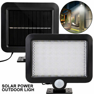 18001 16LED Solar Power Body Induction Lamp Light Wireless Sensor Home Bright UK