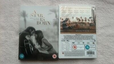 A Star is Born (2018) (DVD) Bradley Cooper, Lady Gaga UK R2 VGC FAST POST
