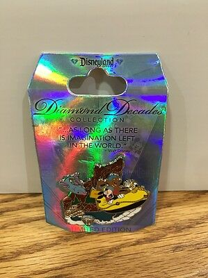 Disneyland 60th Anniversary Diamond Decades Pin: Grizzly Rivers LE (DP-15)