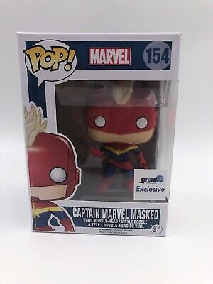 Funko Pop!: Marvel Captain Marvel Masked #154: GTS Exclusive (L6)