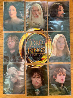 Topps The Lord of the Rings - The Two Towers - Promo cards set - C1-C9