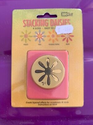 "Bn Mcgill Stacking Daisy Punch 1"". Card Making, Scrapbooking"