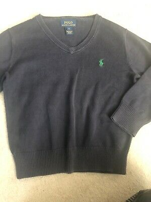 Polo Ralph Lauren Navy Sweater Age 5