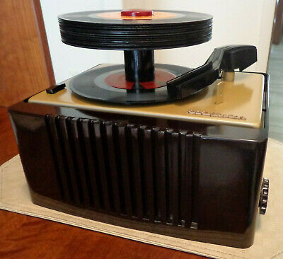 Rca Victor 45-Ey-2 Very Nice Totally Restored Vintage  45 Rpm  Record Player