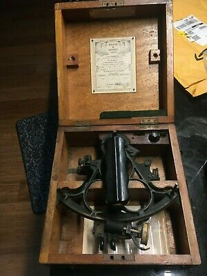 Vintage Kelvin & Hughes Sextant 1956 Real Not A Replica/Reproduction