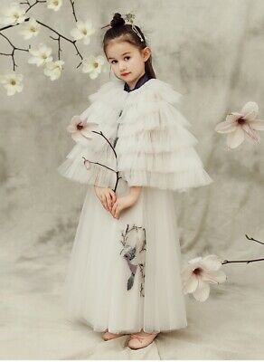 HIGH QUALITY Childrens Girls Elegant Fancy Chinese Traditional Oriental Dress